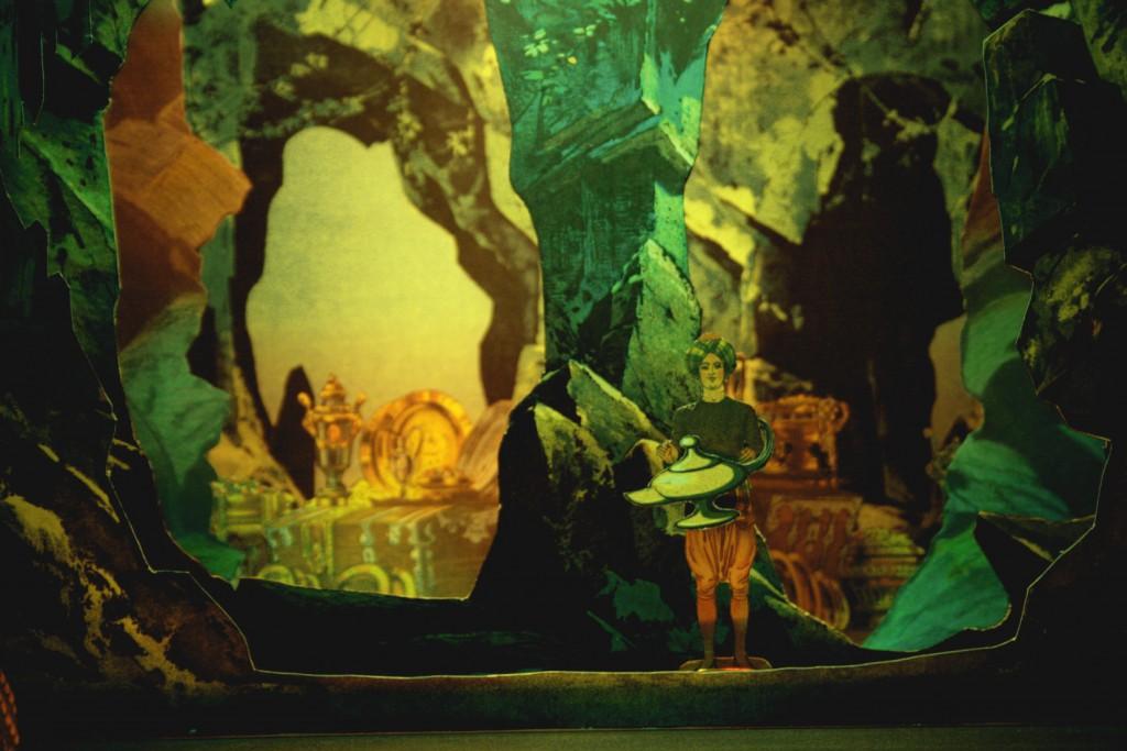 Papiertheater: Aladin und die Wunderlampe